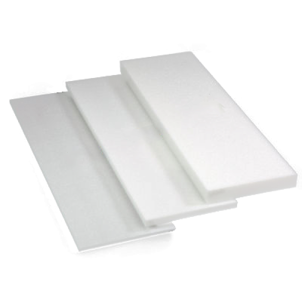 "1/2"" x 12"" x 36"" Styrofoam Sheets - White - 40 Per Case"