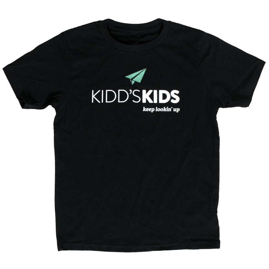 Youth Logo Tee - Black