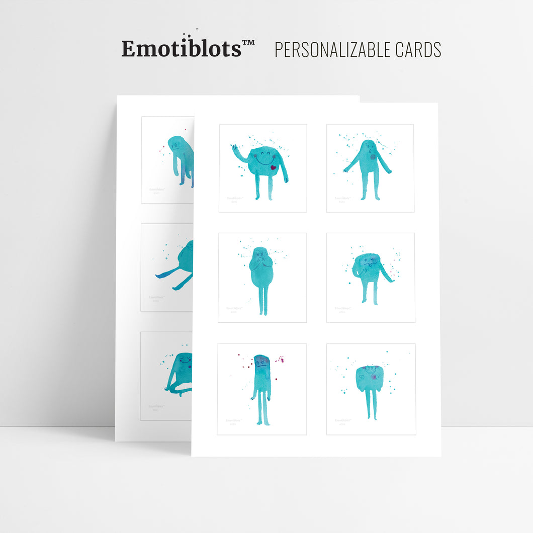 Emotion Cards (printable)