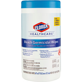 Clorox® Healthcare® Bleach Germicidal Wipes - 150 ct.