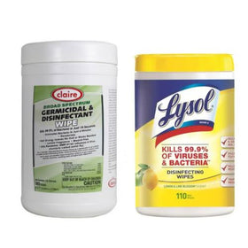 Claire and Lysol Wipes Duo Pack - 290 Wipes count