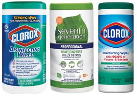 Clorox & Seventh Generation Wipes Trio