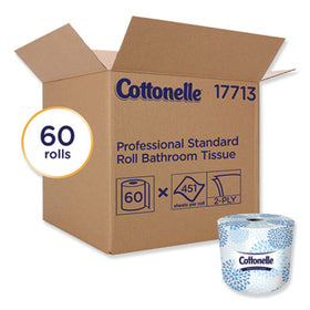Cottonelle Two-Ply Bathroom Tissue in White, 451 Sheets per Roll, 60 Rolls/Carton