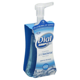 Dial Complete Foaming Antibacterial Hand Wash, Spring Water, 7.5 oz each