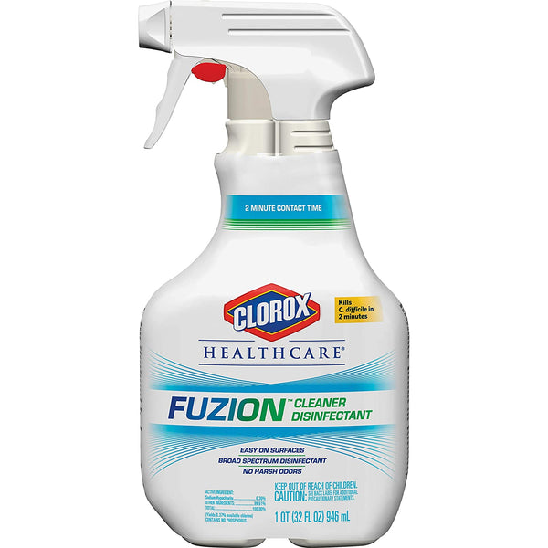 Clorox Healthcare Fuzion Cleaner Disinfectant 32 oz.