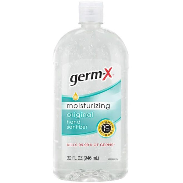 Germ-X Moisturizing Hand Sanitizer, Original 32 oz
