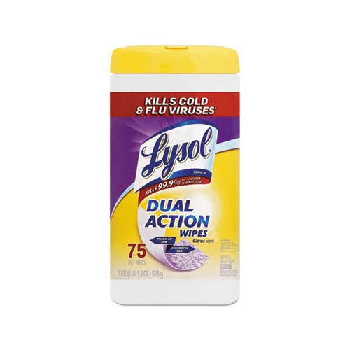 Lysol Dual Action Wipes - 75 ct.