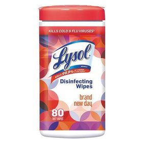 Lysol Disinfecting Wipes - Brand New Day Mango & Hibiscus 80 ct.
