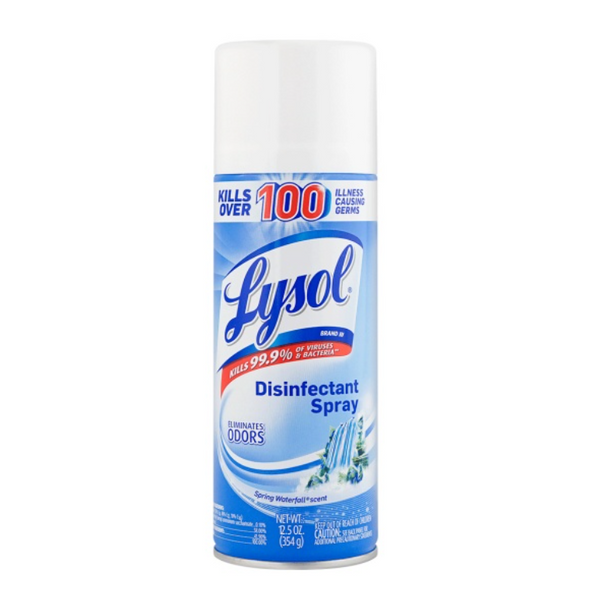 Lysol Spring Waterfall Disinfectant Spray 12.5 oz.