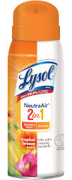 Lysol Disinfectant Spray Neutra Air 2 in 1 Neutra - Tropical Breeze