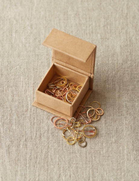 Precious metal Stitch Markers fra Cocoknits