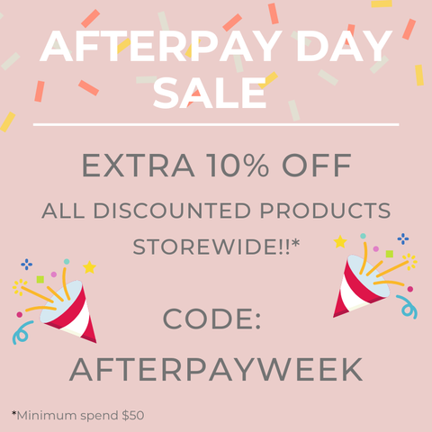 Afterpay Day sale, Korean Skincare E-commerce
