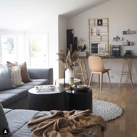 Photo credit: The workspace stylist, (curated the work from interior designer, Trude Kjos)