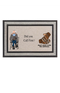 Bernie Sanders Did You Call First Doormat Funny Saying