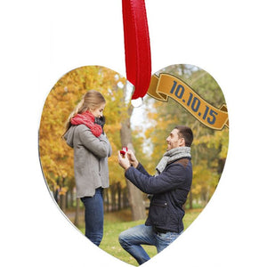 Heart Shape Christmas Ornament