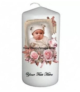 Customized Unity or Memorial Candle