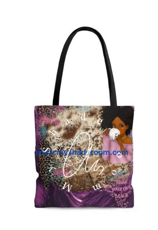 Purple Tote Bag Make Your Own Magic