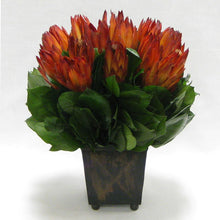 Load image into Gallery viewer, Copper Square Mini Container - Protea