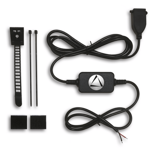 LandAirSea 54 - Hardwire Power Adapter Cable Kit from external power source - LandAirSea Systems