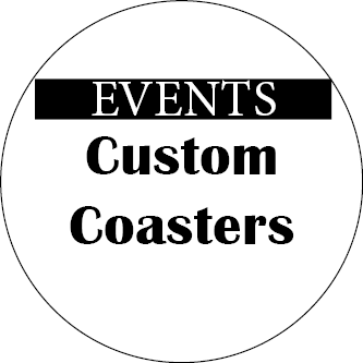 Events Custom Coasters