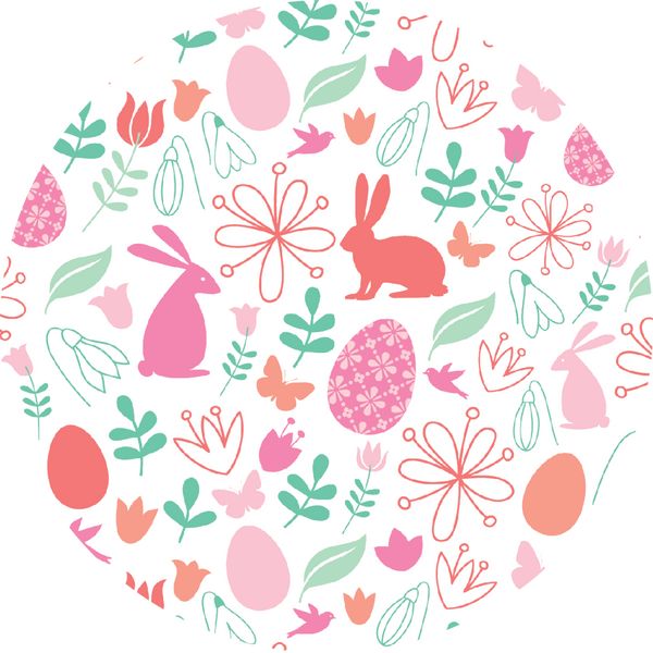 Easter Coaster Set