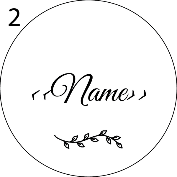 Wedding Name Place Design 2