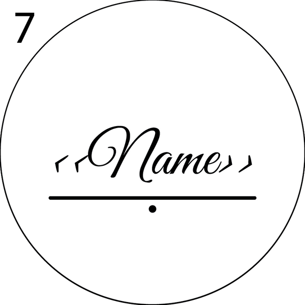 Wedding Name Place Design 7