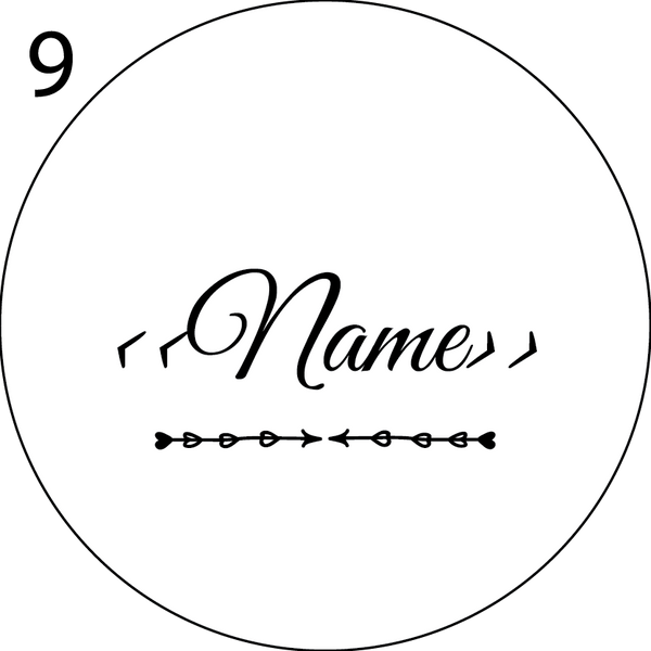 Wedding Name Place Design 9