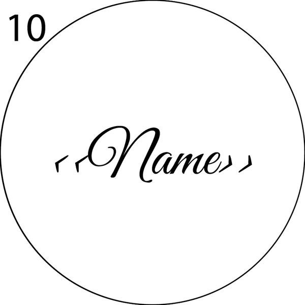 Wedding Name Place Design 10