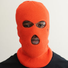 Load image into Gallery viewer, NEON ORANGE SKI MASK