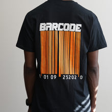 Load image into Gallery viewer, BARCODE BLACK TEE