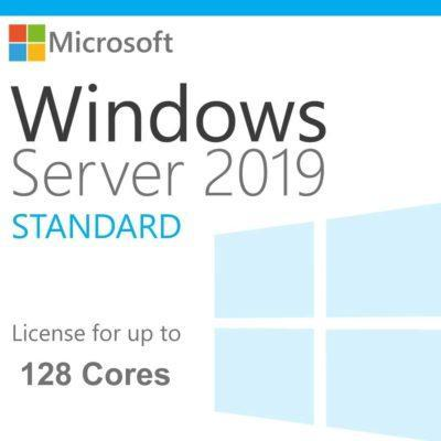 Windows Server 2019 Standard ® License - Global Key - Unlimited Cores