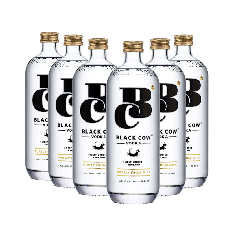 6 x Pure Milk Vodka 70cl (6 for the price of 5)