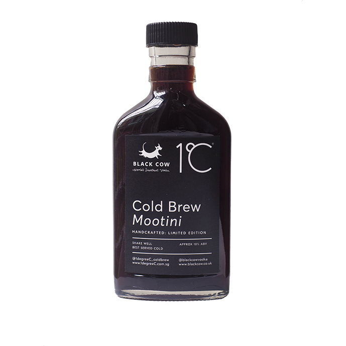 Black Cow Coldbrew Mootini 185ml - Limited Edition
