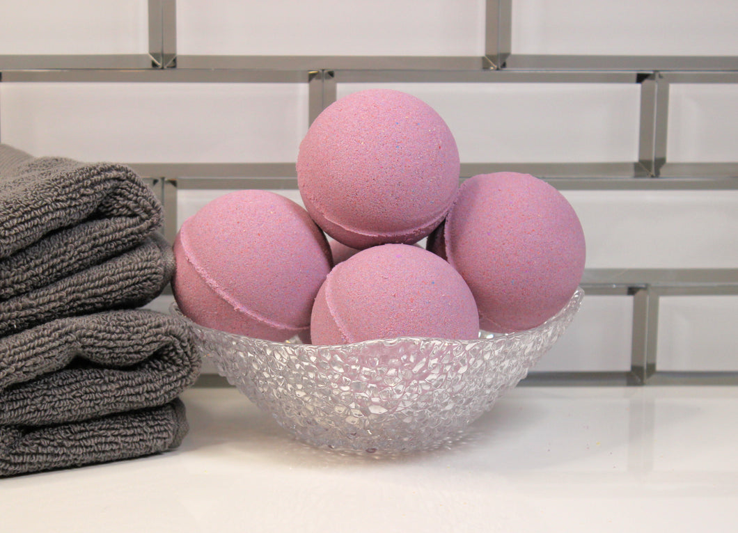 Black Raspberry & Vanilla Bath Fizzies