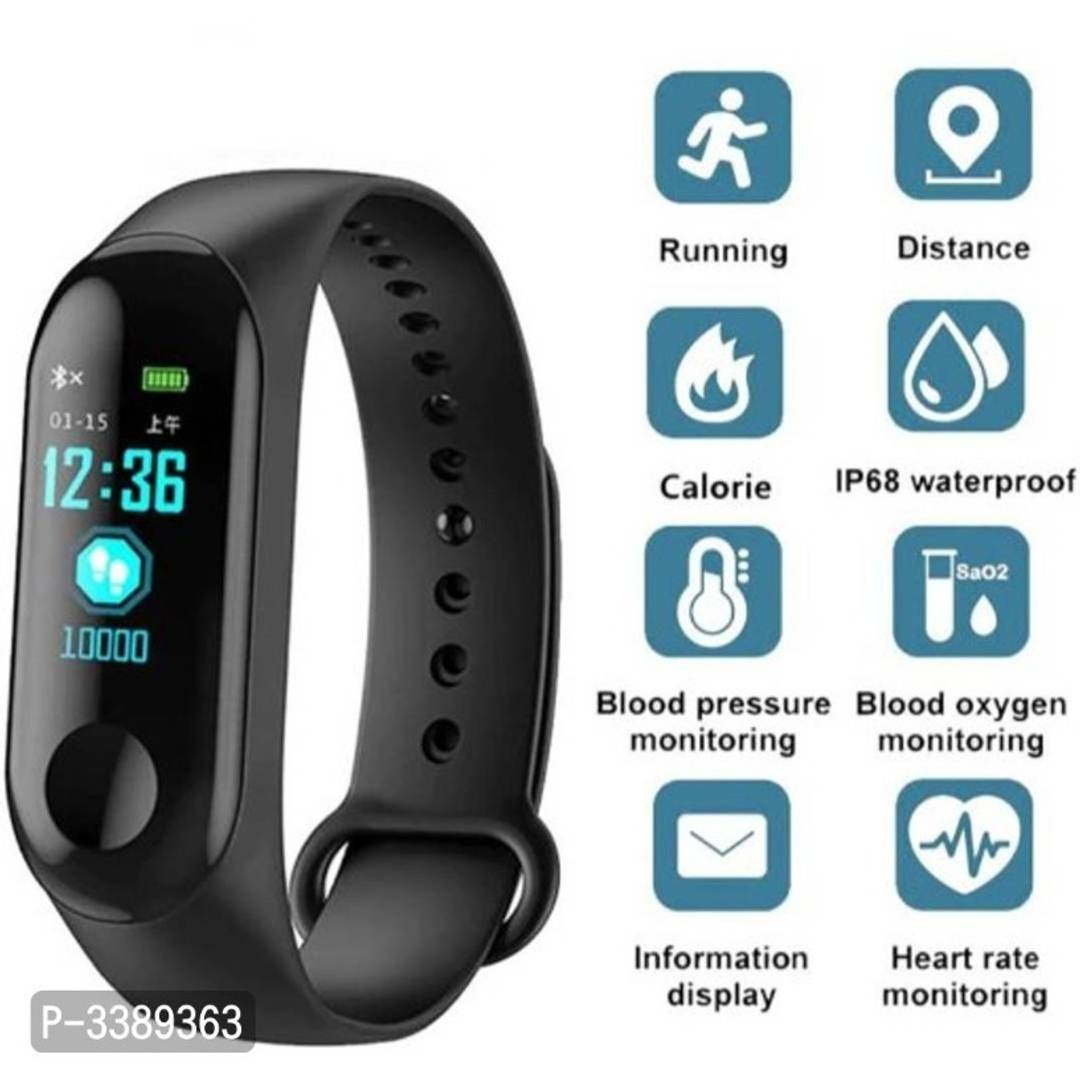 M3 Fitness Smart Band Fitness Tracker