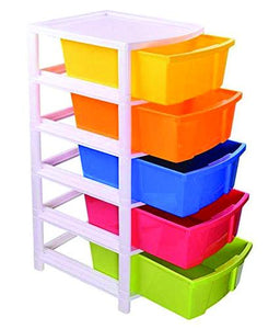 0769 Multipurpose Modular Drawer Organizer Storage Box - 5 Layers