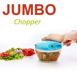 2014_Vegetable Handy Chopper with 3 Blades, 500 ml (Multicolor)