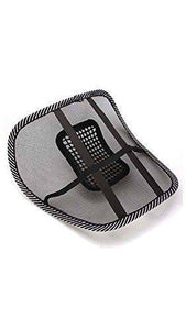 0534 Ventilation Back Rest with Lumbar Support