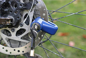 1514 Wheel Padlock Disc Lock Security for Motorcycles Scooters Bikes