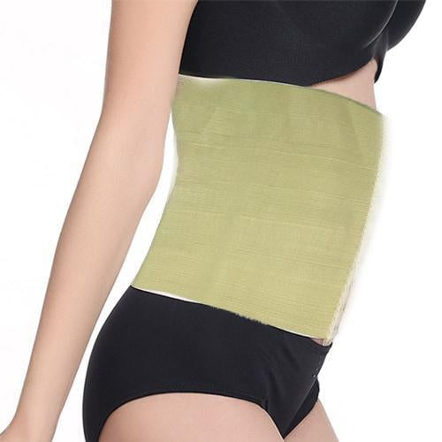 0256 2 Hooks Waist Trimmer Belt Shaper Cincher Trimmer Body shape - (L)
