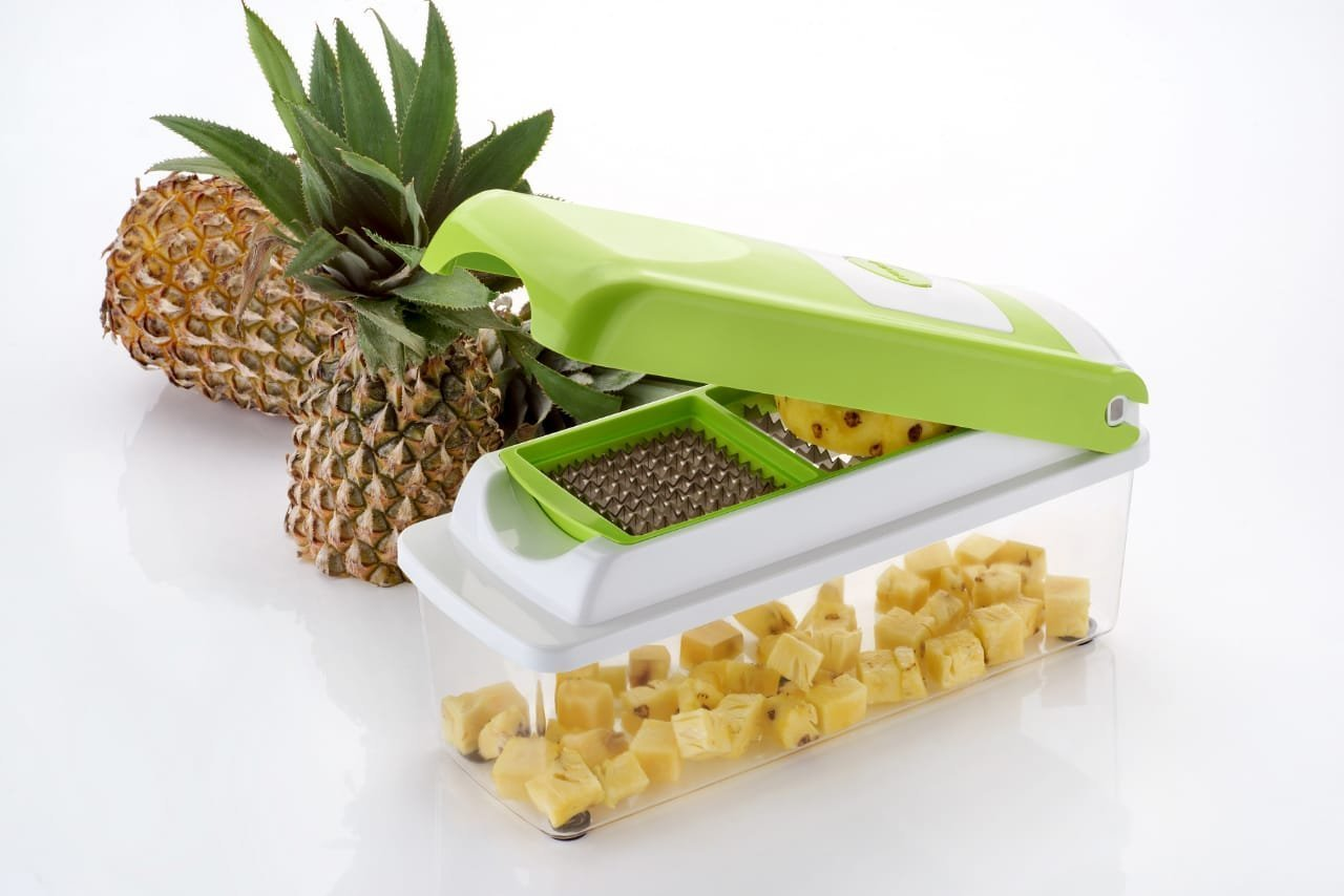 2199 Multipurpose Vegetable and Fruit Chopper Cutter Grater Slicer - DeoDap