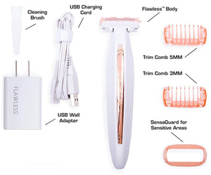 0404 Flawless Body Total Body Hair Remover