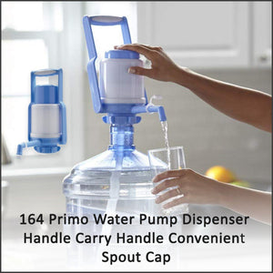0164 Primo Water Pump Dispenser Handle Carry Handle Convenient Spout Cap