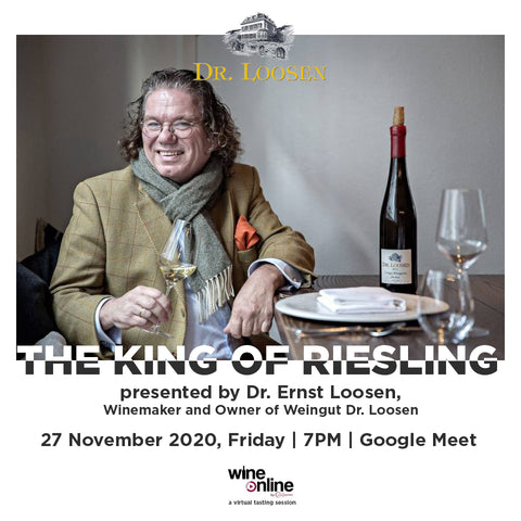 The King of Riesling Tasting Poster
