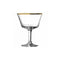 Urban Bar Gold Rim Fizz Cocktail Glass 20cl