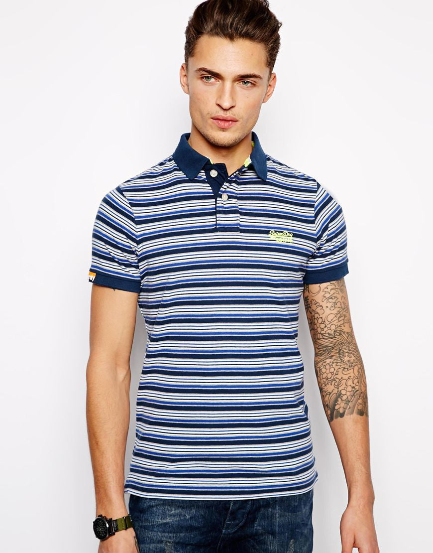 Polo Shirt with Arizona Stripe