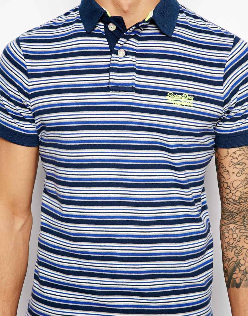 Polo Shirt with Arizona Stripe Thumbnail