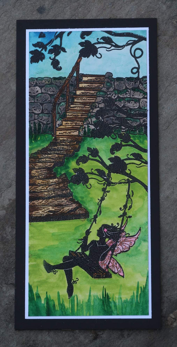 Fairy Hugs Stamps - Wooden Walkway