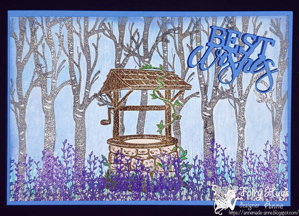 Fairy Hugs Stamps - Hanging Vines